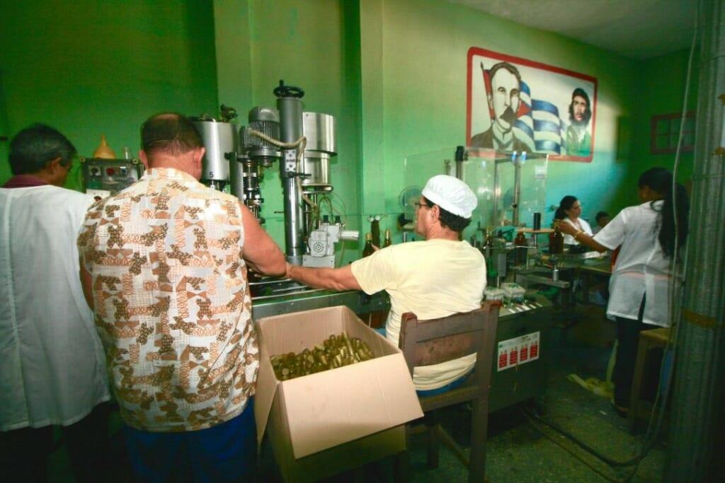 Guayabita Factory in Vinales Cuba
