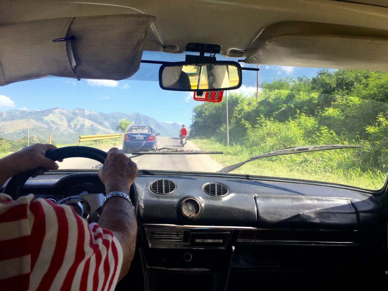taxi drivers cuba