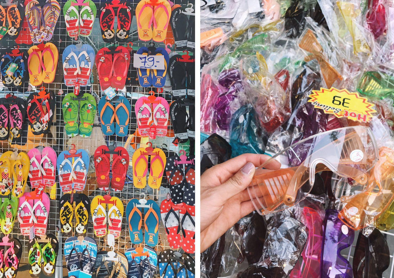 Glasses Protection Preparing for Songkran Shoes