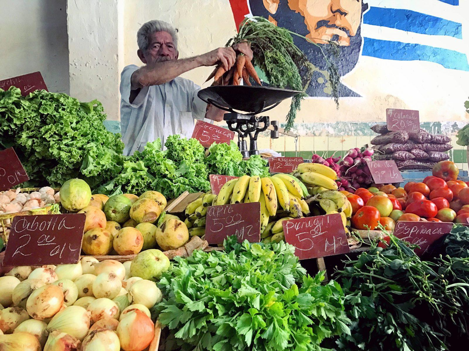 Fruits and Veggies Market Havana Cuba